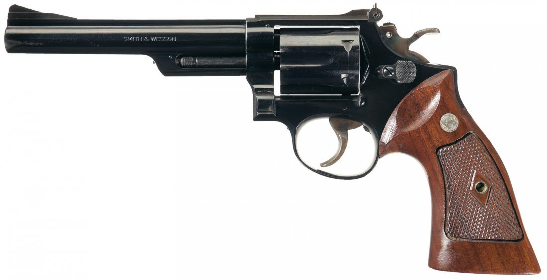 1879: Smith & Wesson Model 53 Double Action Revolver