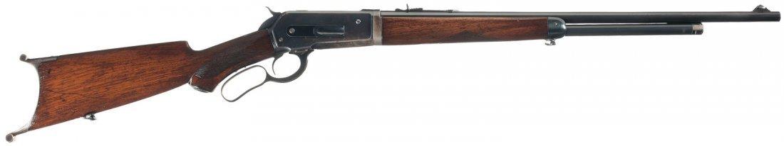 3003: Winchester Model 1886 Take-Down Rifle with Unique