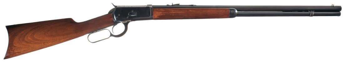 3004: Winchester Model 1892 Lever Action Rifle