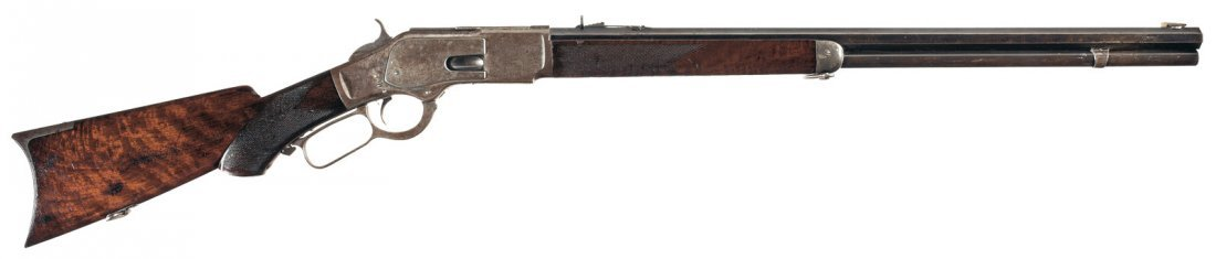 3006: Fine Special Order Winchester Model 1873 Deluxe L