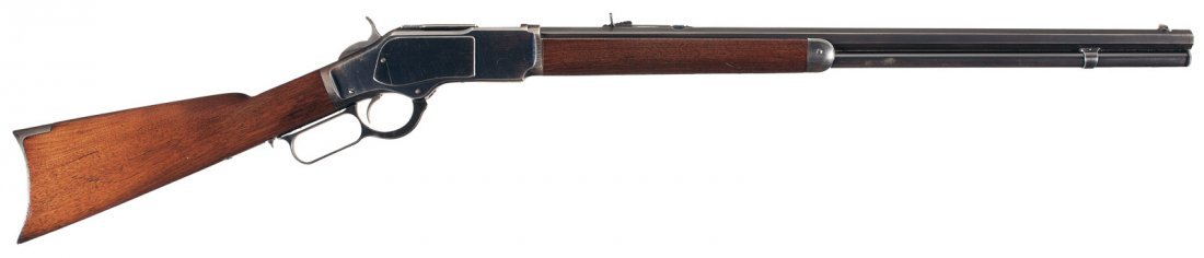 3011: Very Fine Winchester Model 1873 Lever Action Rifl