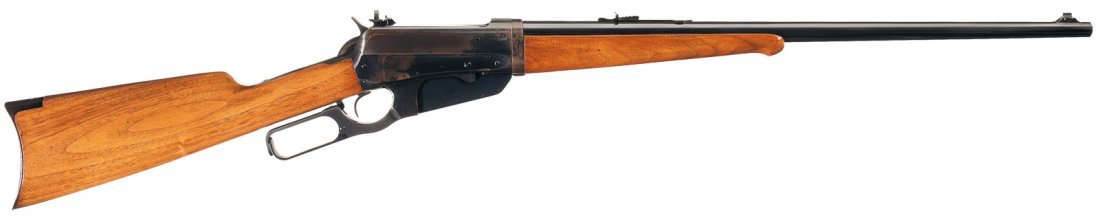 3013: Excellent Winchester Model 1895 Takedown Lever Ac