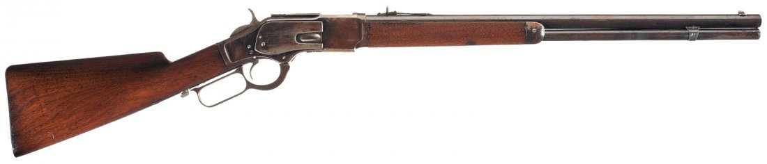 3016: Special Order Winchester Second Model 1873 Lever