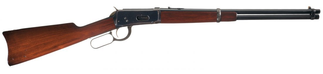 3017: Winchester Model 1894 Lever Action Saddle Ring Ca