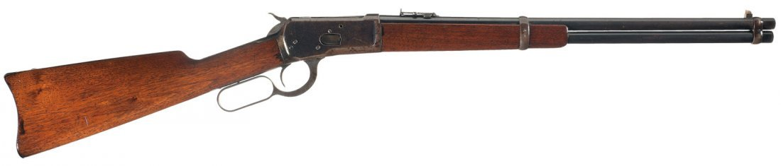 3018: Winchester Model 1892 Saddle Ring Lever Action 44