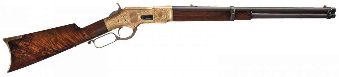 3020: Custom Engraved and Inscribed Winchester Model 18