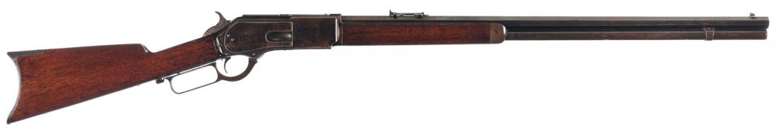 3021: Winchester Model 1876 Lever Action Rifle