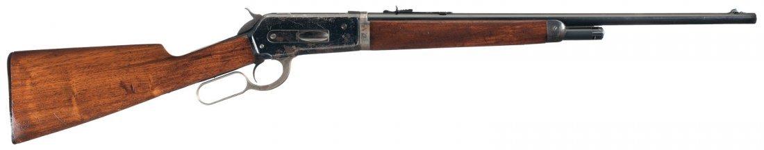 3022: Winchester Model 1886 Light Takedown Lever Action