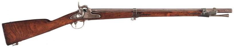 3061: Rare 1855 Dated U.S. Springfield Model 1847 Sappe