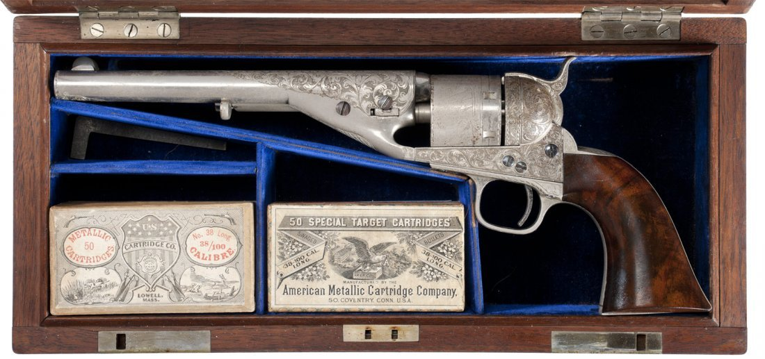 3174: Serial Number 1 Exhibition Engraved and Cased Col