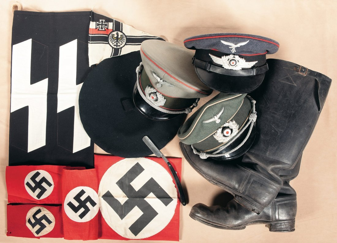 3545: Grouping of German, Mostly Nazi, Items