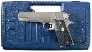3817: Colt Gold Cup Trophy Model 1911 Semi-Automatic Pi