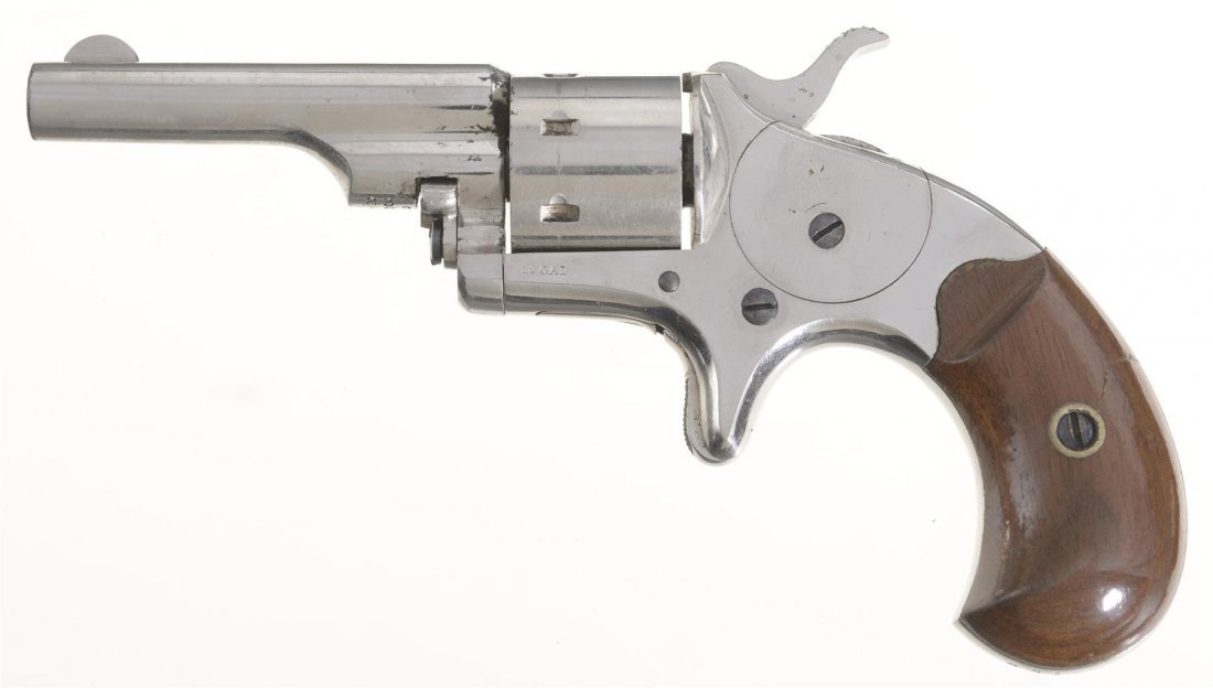Exceptional Colt Open Top Pocket Revolver