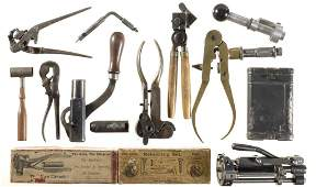 Group of Reloading Tools