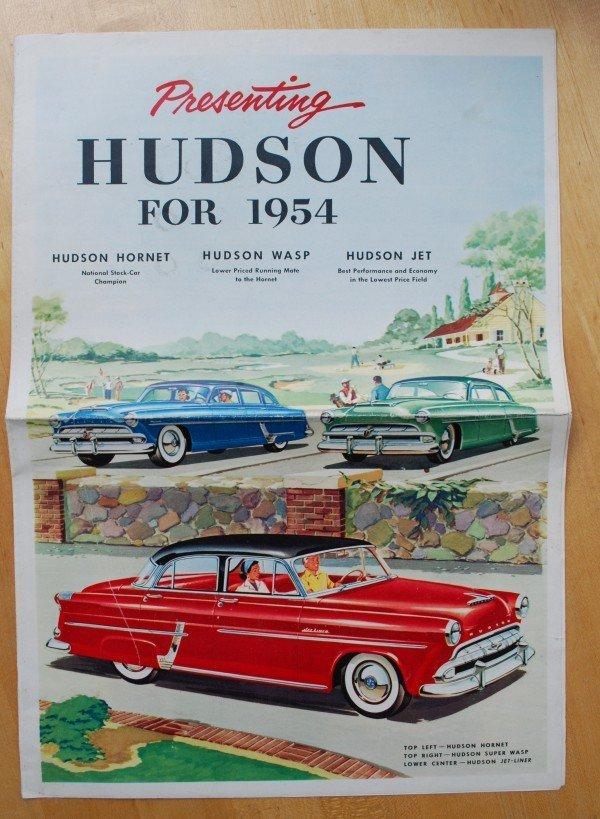 1: 1954 AMC Hudson Brochure
