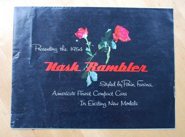 2: 1954 AMC Nash Rambler Brochure