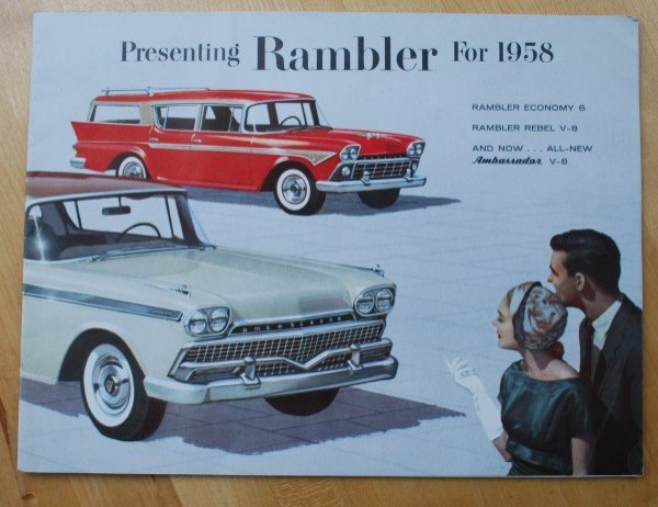 5: 1958 AMC Rambler Brochure