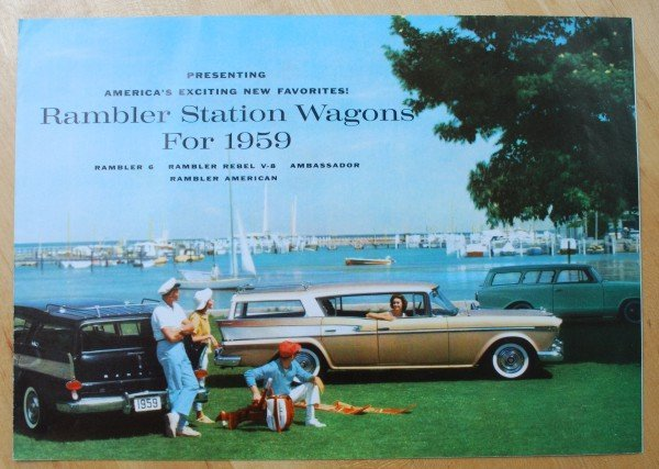 6: 1959 AMC Rambler Station Wagon Brochure