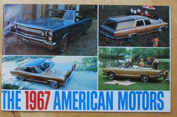 7: 1967 AMC Brochure