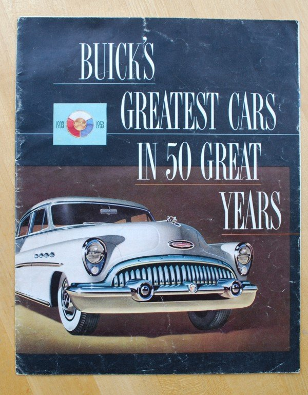 8: 1953 Buick Brochure