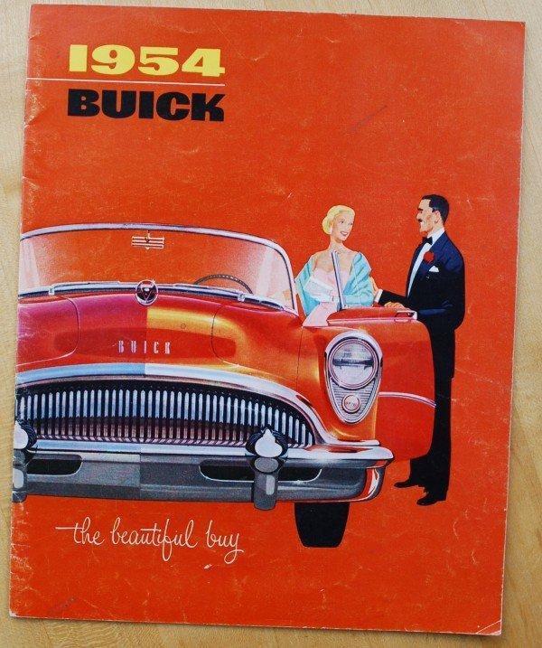 9: 1954 Buick Brochure