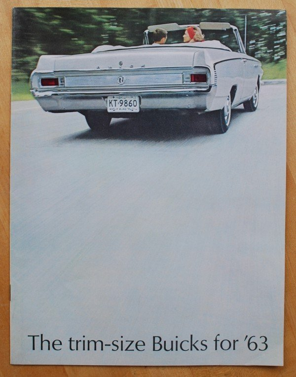 18: 1963 Buick Trim Size Brochure