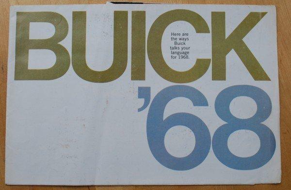 22: 1968 Buick Brochure