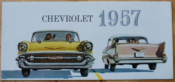 40: 1957 Chevrolet Brochure