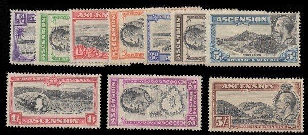 3: Ascension (23-32) 1934 1/2p-5S KGV MLH