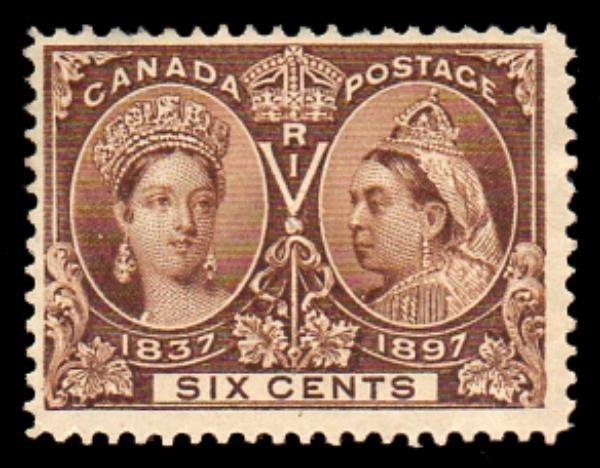 11: Canada (55)  1897  6c Jubilee Mint