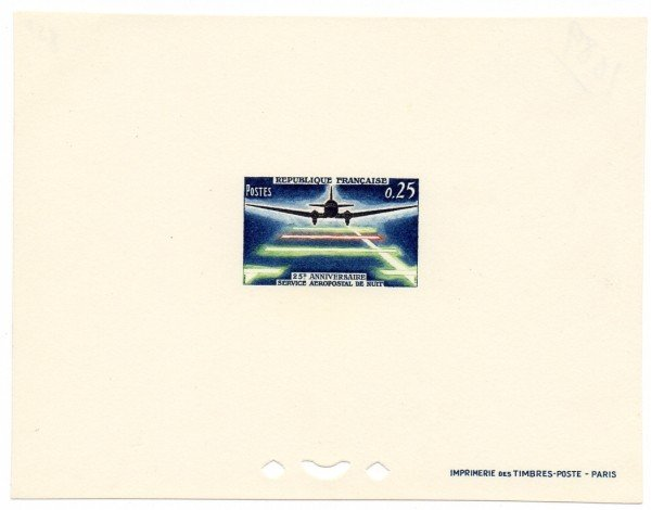 21: France (1089) 25th Year Night Flight Deluxe Proof