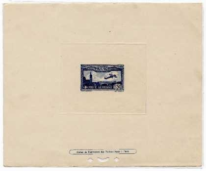 24: France (C6) 1931 1.50 Franc Blue Deluxe Proof