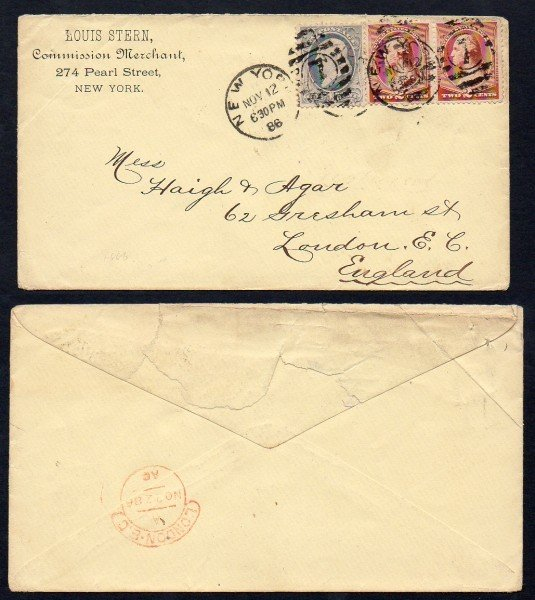 10: US (206,210) Merchant Cover to London