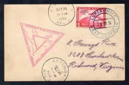 104: Germany (C43) Zeppelin Cover 1933