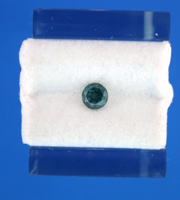 222: .51ct Blue Diamond