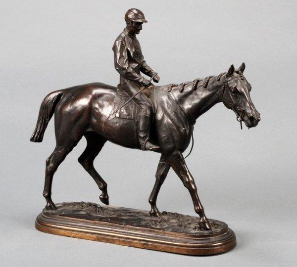 10: After Isidore Bonheur, bronze