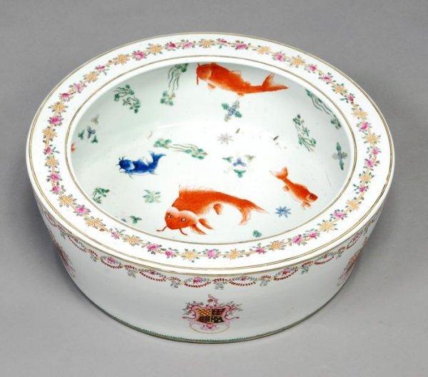 19: A porcelain fish bowl