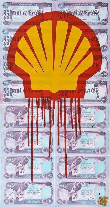 "2: Beejoir ""Shell Blood for oil"""