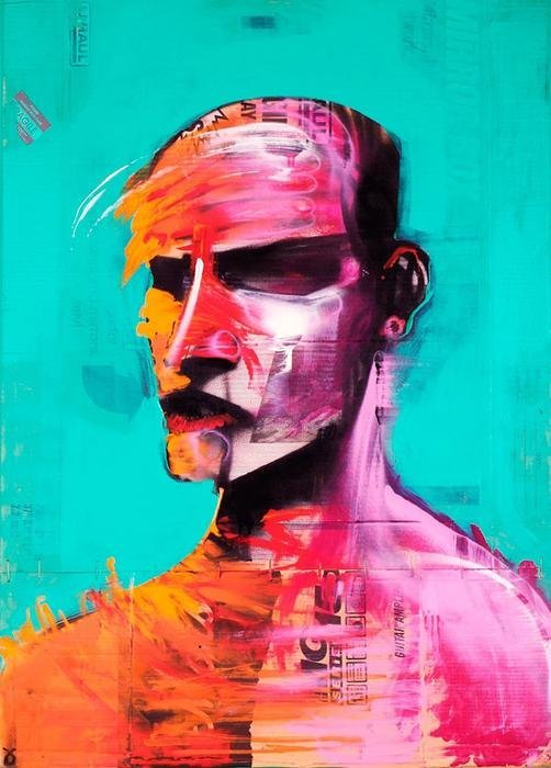 13: Adam Neate 'Self Portrait'