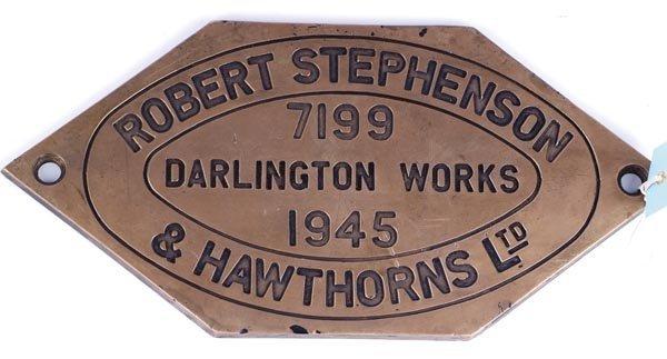 1: A Class 19D 4-8-2 Hawthorne railway plate