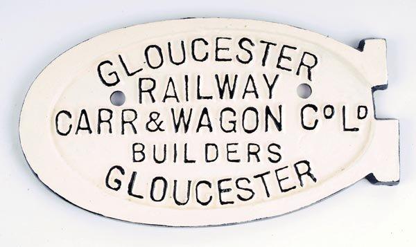 5: Gloucester Wagon Plate