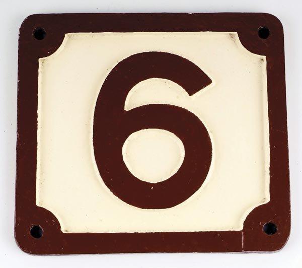 12: Midland Railway Bridge Plate (No.6)