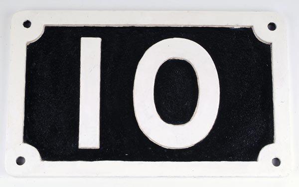 13: Midland Railway Bridge Plate (No.10)