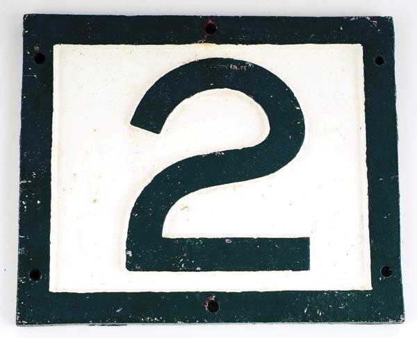 14: L. & S.W.R. Bridge Plate (No.2)