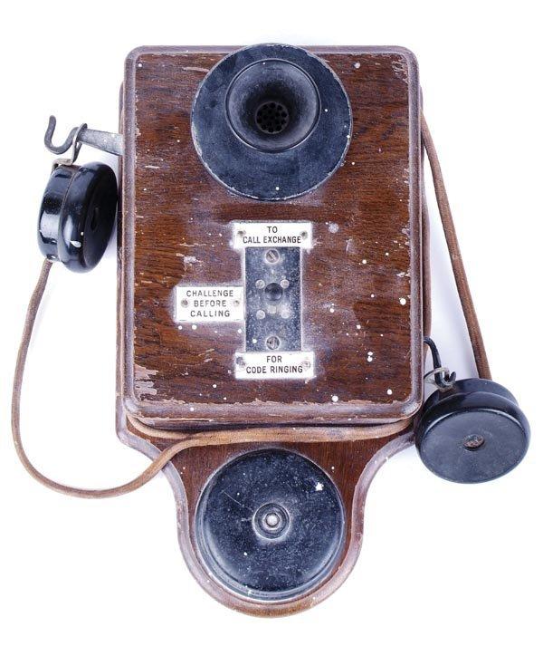 17: Signal Box Telephone
