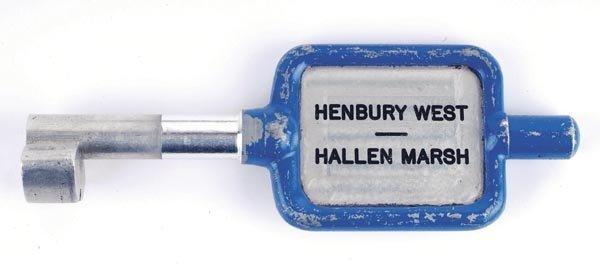 21: Henbury West Alloy Key Token