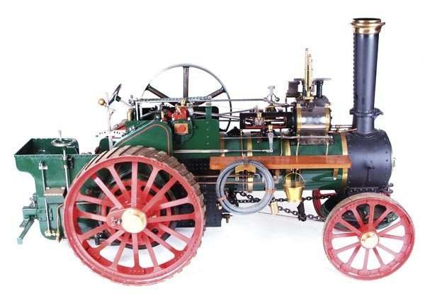98: A 4 inch scale Foster Traction engine