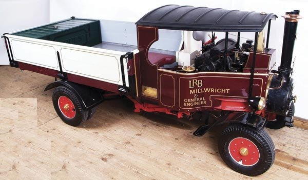 100: A 4 1/2 inch scale Foden Steam Lorry