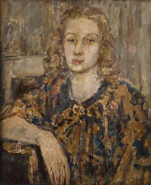6: Dame Ethel Walker - Portrait of a lady
