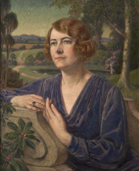 9: John Bernard Munns - Portrait of a lady